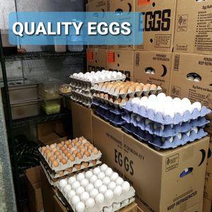 Fresh Eggs XL 15 Dz $23 Brown Eggs 15Dz$20 for Sale in Paramount, CA