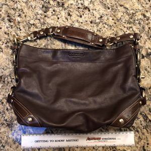 Coach Hobo Shoulder Bag Brown Leather for Sale in Buena Park, CA
