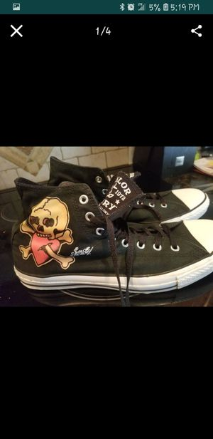 Sailor Jerry special edition Converse All Stars...mens size 13 for Sale in Seminole, FL