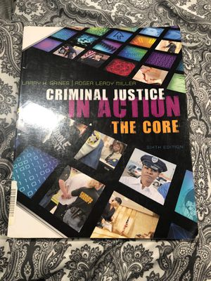 Criminal justice book for Sale in Baytown, TX
