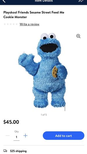talking cookie monster for Sale in Broomall, PA