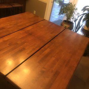Pub style Dining Set - Heavy Duty Wood Quality for Sale in Fresno, CA