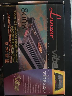 Lanza 2 channel bass amp for Sale in Visalia, CA
