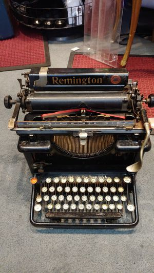 Remington 12 Manuál Typewriter 1909 issue Fully Functional for Sale in Rochester, MN