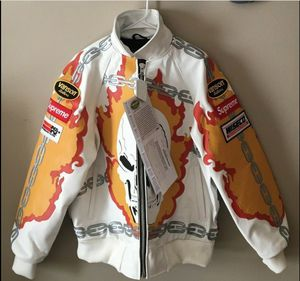 Supreme Ghost Rider Jacket Size M-Under Retail. for Sale in Etna, OH