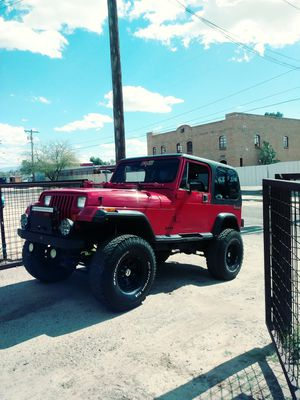 Jeep wrangler for Sale in Tucson, AZ