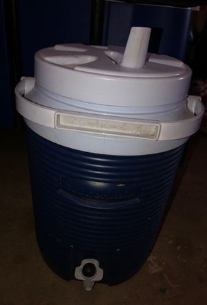 Mini water jug/Ice cooler with spout and straw for Sale in Corona, CA