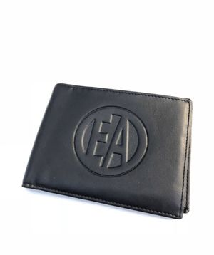 Wallet Black Leather EA for Sale in Miami, FL