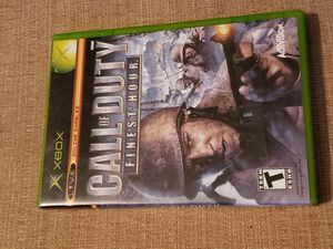 CALL OF DUTY FINEST HOUR for Original Microsoft Xbox System Includes the instruction manual for Sale in Chambersburg, PA