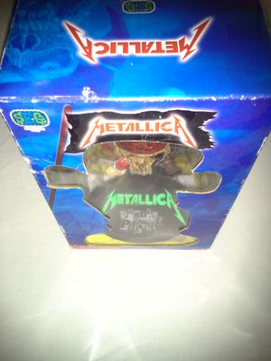 Very Rare Metallica Made In Year 2003 Pirate Skull Statue 6 Inches Tall Condition New for Sale in Reedley, CA