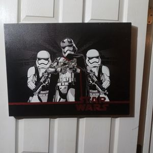 Star Wars Canvas On Frame for Sale in Ocala, FL