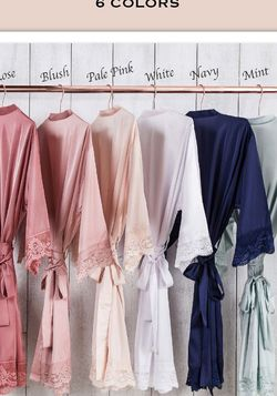 Bridesmaids Blush Robes for Sale in Vancouver,  WA