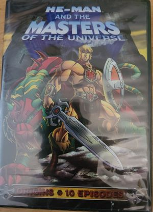 HE-MAN and The Masters of the Universe origins DVD. Brand new! for Sale in Riverside, CA