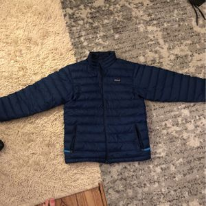 Blue Patagonia Down Jacket Kids XL for Sale in Washington, DC