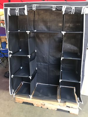 """Home 50""""L x 18"""" W x 66""""H Portable Closet Organizer Wardrobe for Sale in Chino, CA"""