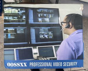 Oossxx professional video security for Sale in Los Angeles, CA