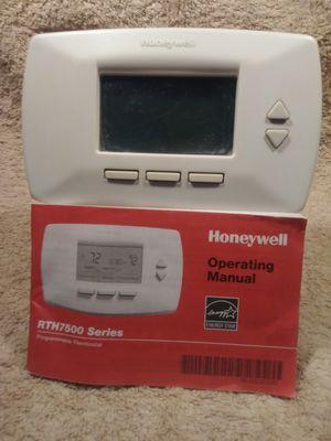 honeywell rth7000 manual