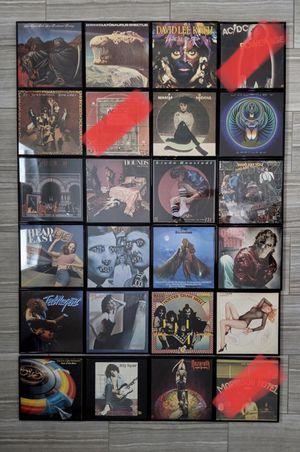 40 VINTAGE VINYL LP ALBUMS 1970's 1980's Rare – Unique – FRAMED $10 each for Sale in Las Vegas, NV