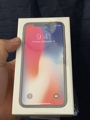 iPhone X 64 gb att new for Sale in San Francisco, CA