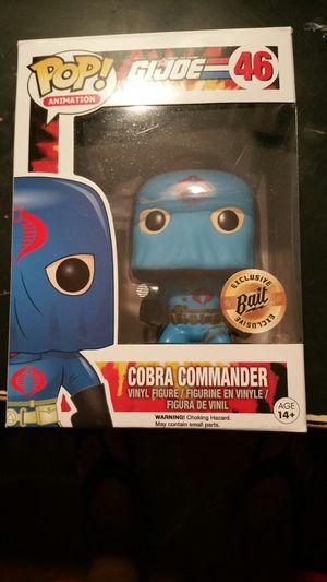 MINT COBRA COMMANDER BAIT EXCLUSIVE FUNKO POP for Sale in Houston, TX