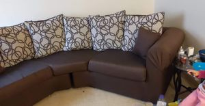 Brown sectional for Sale in Greensboro, NC