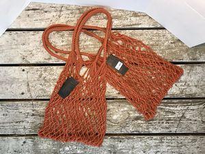 2 New Forever 21 fishnet shopping bags for Sale in Apopka, FL