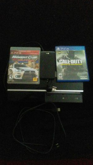 Ps3, 1control 1 ps3 game and 1 ps4 game for Sale in Avon Park, FL