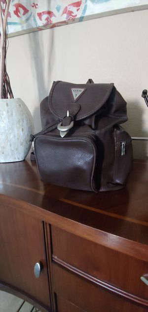 Brown Leather Guess Backpack for Sale in Avondale, AZ