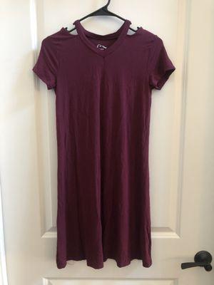 Junior's Maroon Dress for Sale in Concord, CA