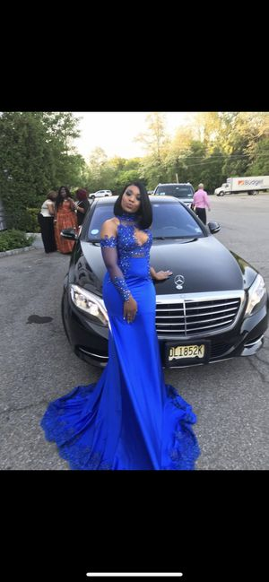 Royal blue prom dress for Sale in Yonkers, NY