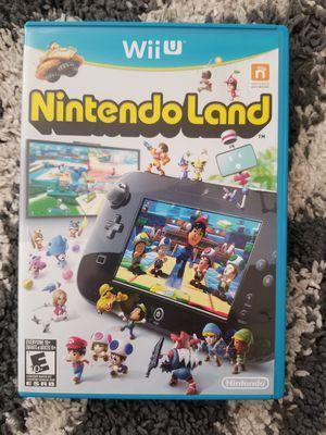Wii U - NINTENDO LAND - LIKE NEW for Sale in Lakeland, FL