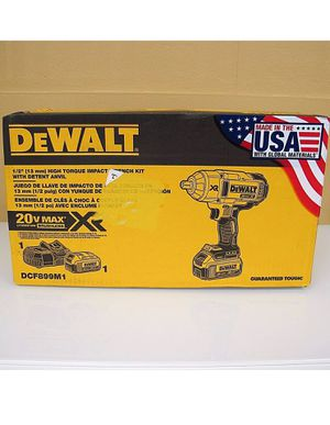 New Dewalt DC F899M1 Impact wrench for Sale in Camden, NJ