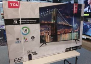 """65"""" TCL ROKU TV UHD HDR SMART TV for Sale in Colton, CA"""