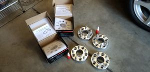 "RICHEER 1"" wheel spacers for 5x4.5 bolt pattern and 12x1.25 wheel studs for Sale in Lake View Terrace, CA"