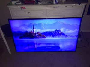 60 lg 4K smart tv no stand with remote for Sale in Mt. Juliet, TN