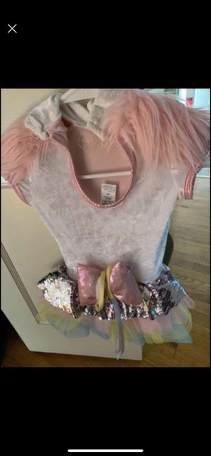 Unicorn costume for 4t-5t girls for Sale in Agawam, MA