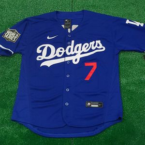 STITCHED LOS ANGELES DODGERS BASEBALL JERSEY for Sale in Camp Pendleton North, CA