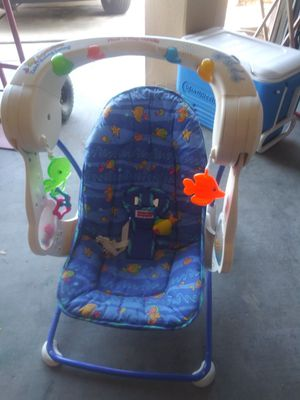 Swing for baby boy for Sale in Phoenix, AZ