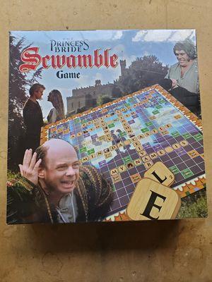 Unopened New Princess Bride Scrabble board game for Sale in Salt Lake City, UT