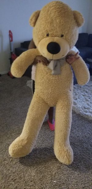 giant teddy bear 5ft for Sale in Fort Worth, TX
