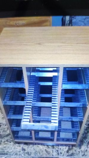 Storage Cabinet for CD's or DVD's in Jewel Cases for Sale in North Las Vegas, NV