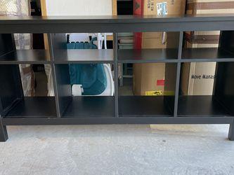 Black Hemnes Sofa Table for Sale in Spring,  TX