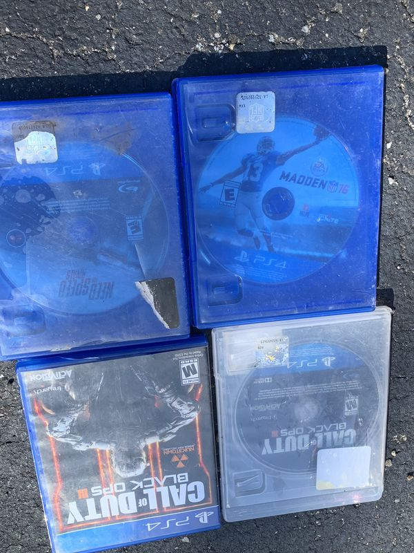 PlayStation 4 games everything for 7.00