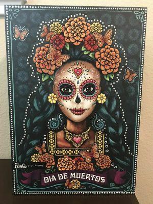 Barbie Dia De Los Muertos Day of the Dead Doll, Mattel, 2019 Undisplayed for Sale in Dallas, TX
