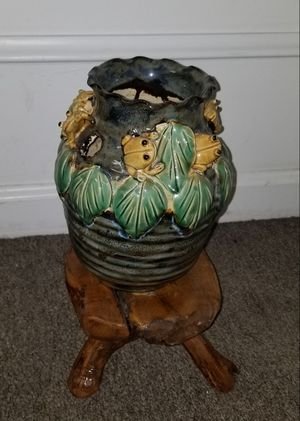 Indoor Handmade Plant Stand and Pot for Sale in Annandale, VA