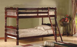Brand new twin over twin size bunk bed (available in 2 colors) for Sale in Silver Spring, MD