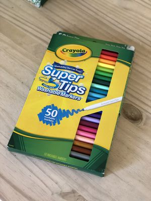 Crayola 50ct. Washable Markers for Sale in Phoenix, AZ