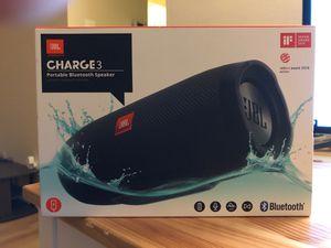 JBL Charge 3 Portable Waterproof Bluetooth Speaker for Sale in Washington, DC