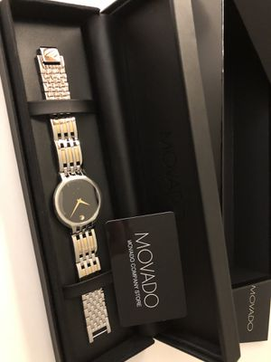 Mens Movado watch NEW NEVER WORN for Sale in Renton, WA