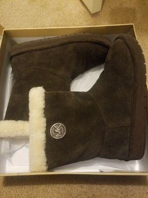 Michael Kors women boots brown for Sale in Fairfax, VA